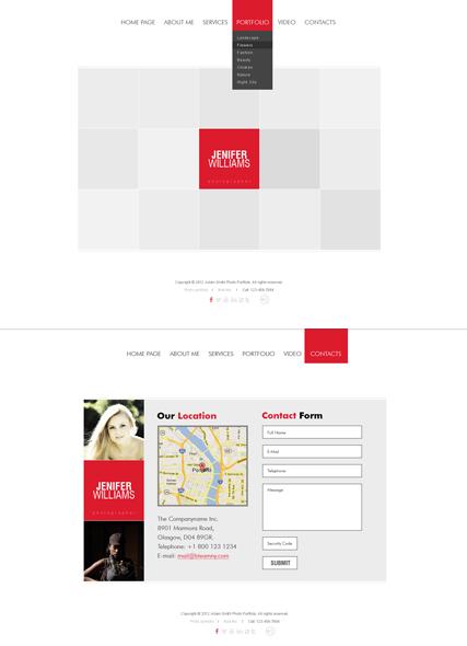 ... шаблон сайта портфолио для фотографа: protpls.ru/product/belyiy-kvadrat-shablon-sayta