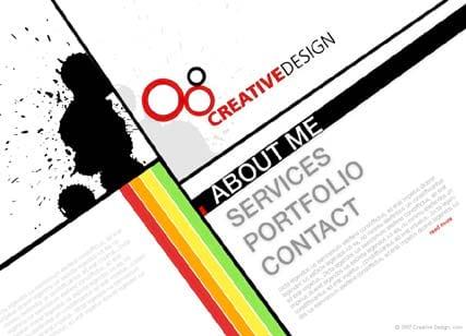 Креативный дизайн сайта