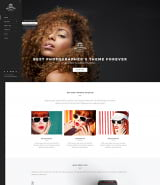"""Fashion Photographer"" шаблон сайта для Wordpress"
