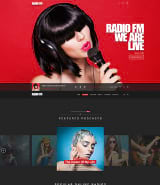 """RADIO FM"" шаблон сайта Wordpress на тему радио"