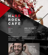 """Hard Rock Cafe"" шаблон сайта Joomla"