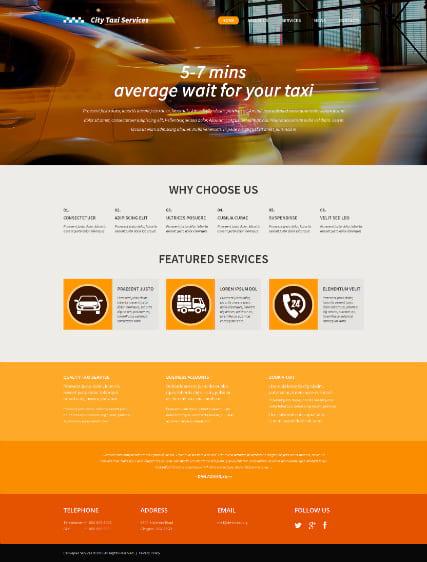 Шаблон Сайта Такси Бесплатно Скачать - фото 10