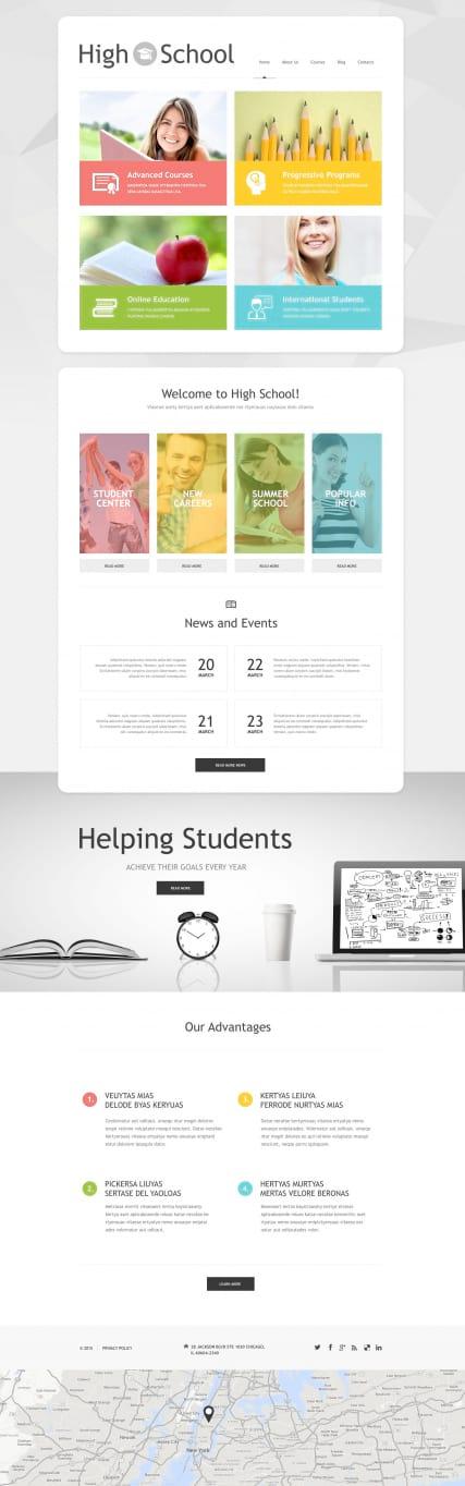 Движок для сайта образовательного учреждения сделать сайт визитку в донецке