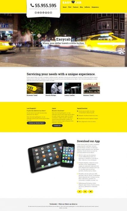 Шаблон Сайта Такси Бесплатно Скачать - фото 6