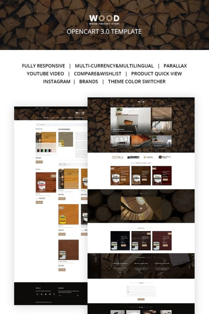 Wood Finishes Responsive